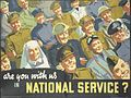 Are You with Us in National Service? Art.IWMPST13964.jpg