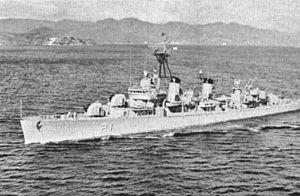 USS Dortch - Dortch as ARA Espora (D-21) in 1962.