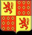 Armes de Louis-Charles d'Albert, 2e duc de Luynes.png