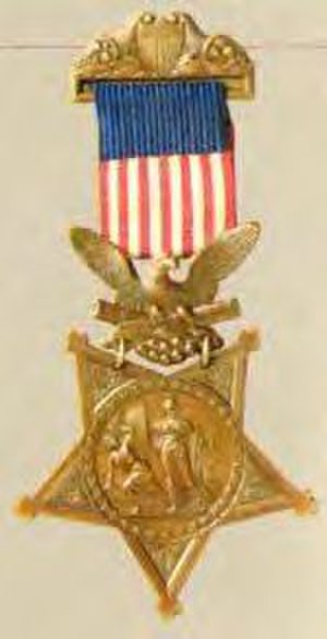 Nelson W. Ward - Medal of Honor, 1862–1895 Army version