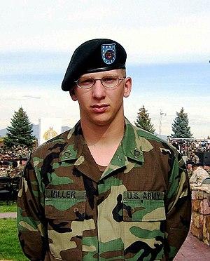 Patrick Miller (soldier) - Miller in 2003