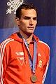Aron Szilagyi podium 2013 Fencing WCH SMS-IN t205904.jpg