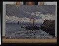 Arrivée des pêcheurs de sardines - Alfred Guillou - musée d'art et d'histoire de Saint-Brieuc, DOC 193.jpg
