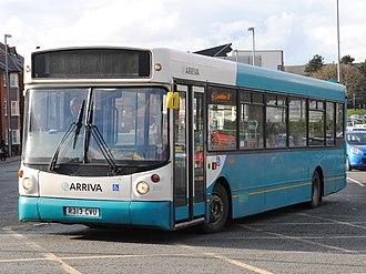 Alexander ALX200 - Arriva Buses Wales ALX200 bodied Dennis Dart SLF in 2013