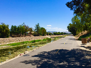 Arroyo Simi river in the United States of America