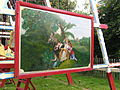 Art work, steam swing boats, Hollycombe, Liphook 3.8.2004 P8030093 (10354108845).jpg