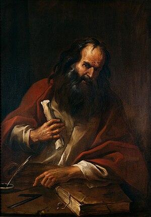 Antonio Cifrondi - Image: Artgate Fondazione Cariplo Cifrondi Antonio, Euclide
