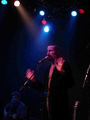 Arthur Brown (musician) - Brown on stage, August 2009