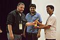 Asaf Bartov Presents Prize To Pranayraj Vangari - Punjab Editathon Winners - Wiki Conference India - CGC - Mohali 2016-08-07 8755.JPG