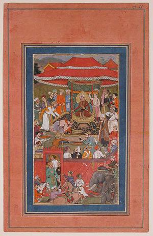 Abu'l-Hasan Asaf Khan - Image: Asaf khan Presents Offerings