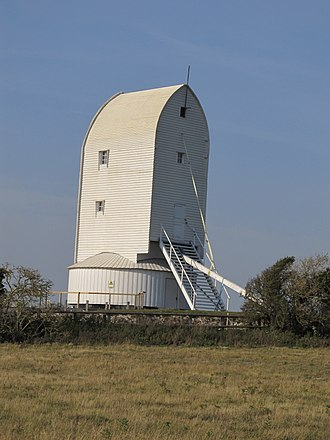 Kingston near Lewes - Rebuilt Ashcombe Mill
