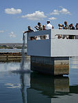 Ashes of Pearl Harbor survivor scattered at USS Utah Memorial 150702-N-GI544-127.jpg