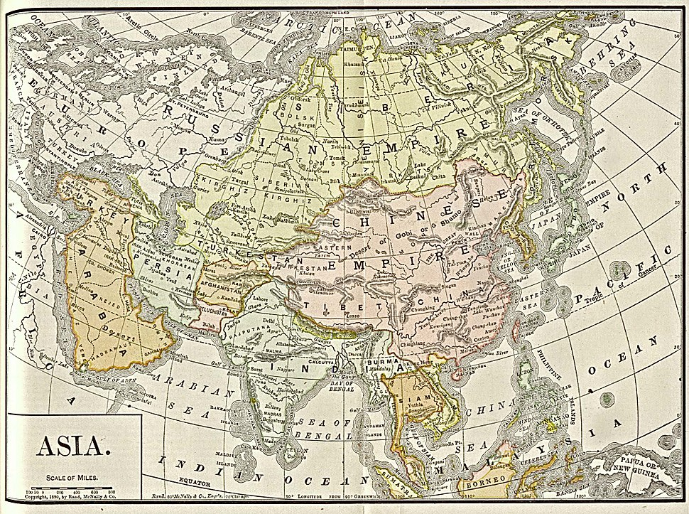 Asia 1892 amer ency brit