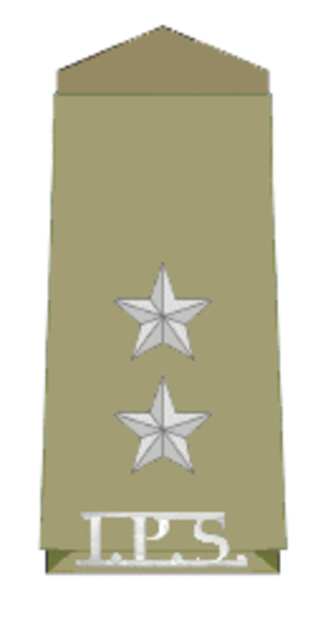 Assistant superintendent - Insignia of an ASP in India (probationary rank)