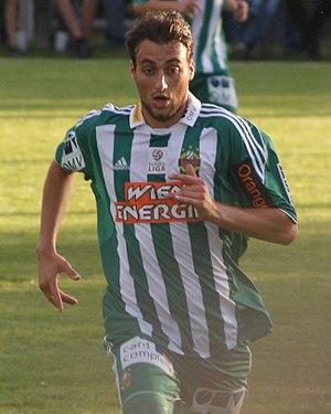 Atdhe Nuhiu - Nuhiu with Rapid Wien in June 2010