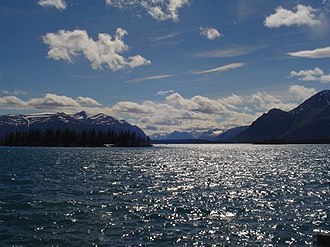Atlin Lake - View of Atlin Lake.