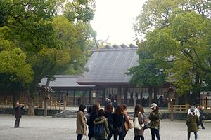 Atsuta Shrine honden - 2014 - march 18.jpg