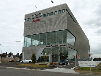 Zetland, New South Wales - Image: Audi Centre Sydney, Zetland, New South Wales (2010 07 10) 02