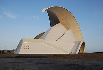 Auditorio de Tenerife - A different view