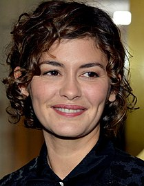 Tautou at the 41st Cesar Awards dinner in 2016 Audrey Tautou janvier 2016.jpg