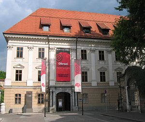 City Museum of Ljubljana - Turjak Palace, the seat of the museum