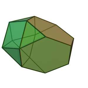 Augmented truncated tetrahedron - Image: Augmented truncated tetrahedron