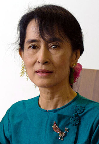 State Counsellor of Myanmar - Image: Aung San Suu Kyi (December 2011)