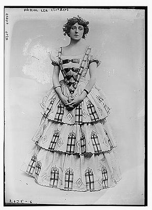 Auriol Lee - As Gertrude Rhead in Milestones by Edward Knoblock, circa 1913, Library of Congress