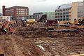 Ausgrabung auf der Baustelle Schloßstraße (01) (26652249446).jpg
