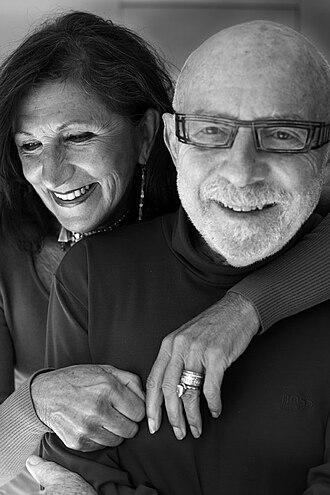 Jef Geeraerts - Jef Geeraerts and his wife Eleonore Vigenon