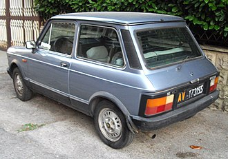 Autobianchi A112 - A112 Elite of the fifth series