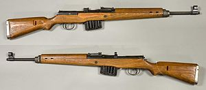 Gewehr 43 - Gewehr 43 from the collections of the Swedish Army Museum