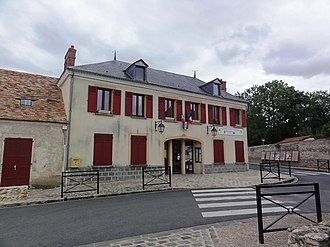 Auvers-Saint-Georges - The town hall of Auvers-Saint-Georges