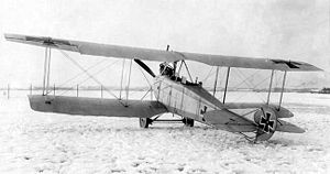 Aviatik C.I - Aviatik C.I trainer (late series)
