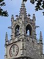Avignon-Rathausturm oder Glockenturm-Hotel deVille-Rathaus von Avignon 1845-1856 von leon Feucheres erbaut-Place de le Horloge.JPG