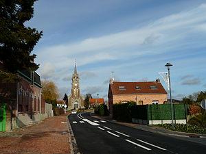 Awoingt - Image: Awoingt église