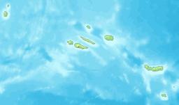 Azoren blank map