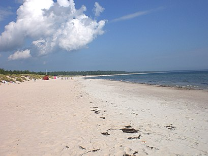 Stranden vid Böda camping