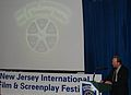 BJ Davis accepts the Best Picture Award for the feature film Forget About It at the NJ Film Festival.jpg