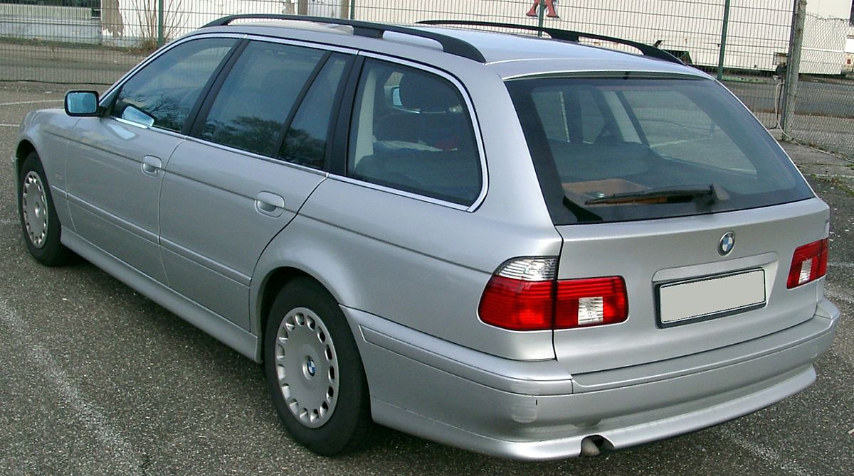 File Bmw E39 Touring Rear 20080108 Jpg Wikimedia Commons