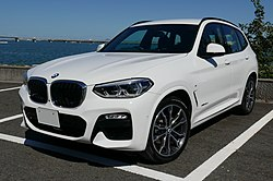 BMW X3 xDrive 20d M Sport, Alpine White Ⅲ (cropped).jpg