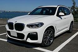 BMW X3 xDrive 20d M Sport, Alpine White Ⅲ (cropped).jpg