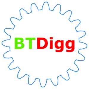 BTDigg - Image: BT Digg logo