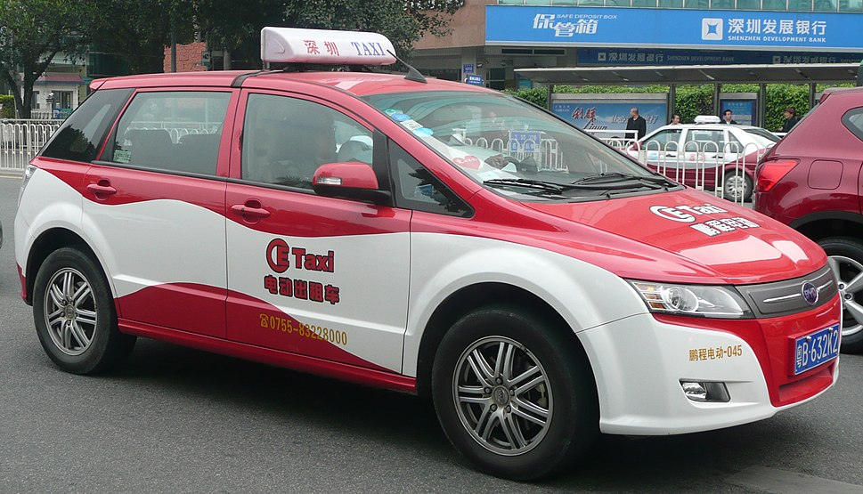 BYD Electric Taxi