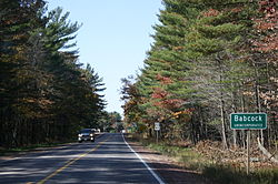 Sign on WIS 173