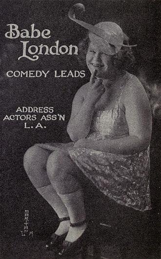 Babe London - Image: Babe London c 1921
