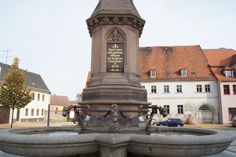 Bad Schmiedeberg Germany  city pictures gallery : Bad Schmiedeberg Rathausplatz 2014 10 18 003 Wikimedia ...