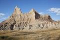 Badlands National Park, South Dakota LCCN2010630585.tif