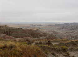 Badlands in South Dakota.jpg