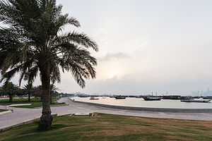 Doha Bay - View over Doha Bay